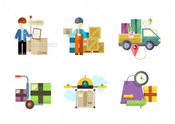 Delivery Service and Goods - Concepts Business