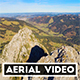 Aerial Video of Mountain Peak in Switzerland II. - VideoHive Item for Sale