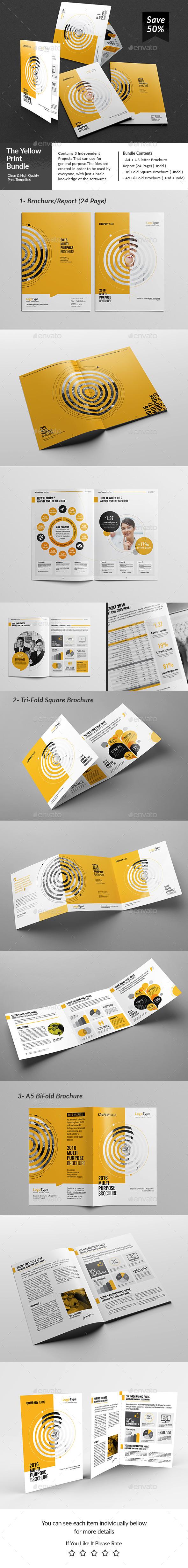The Yellow Bundle - Corporate Brochures