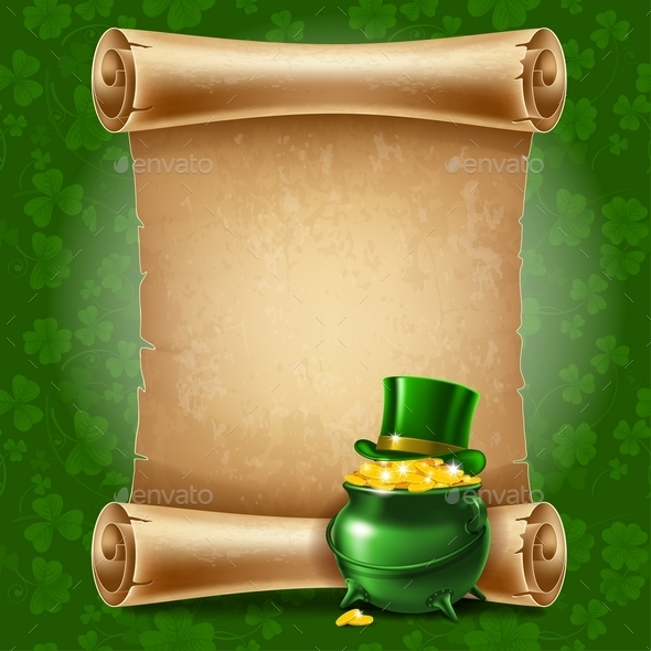 St.Patrick's Day Background - Miscellaneous Seasons/Holidays
