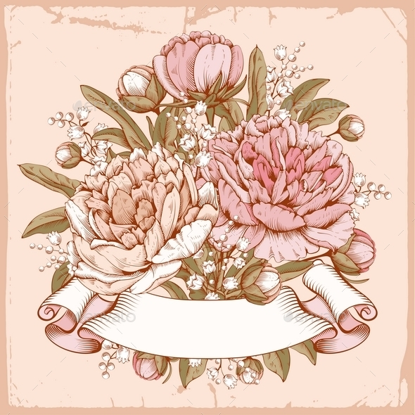 Luxurious Peony - Flowers & Plants Nature