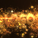 Glowing Particle Logo Reveal 13 : Golden Particles 02 - VideoHive Item for Sale