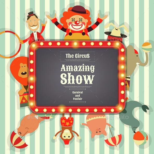 Circus - Characters Vectors