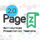PageZ - Multipurpose Presentation Template - VideoHive Item for Sale