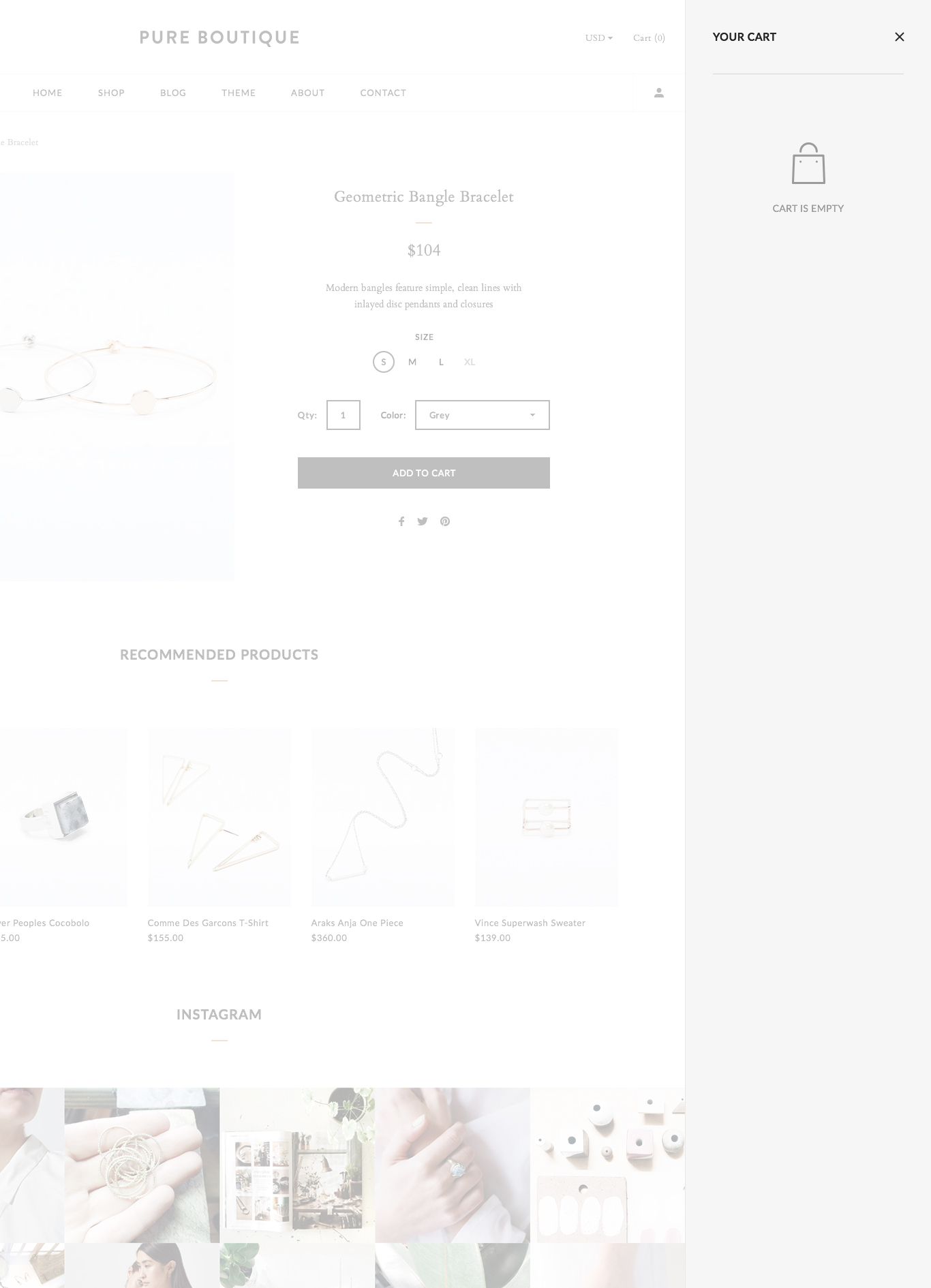 Pure Accessories Woocommerce Psd Template By Highsea
