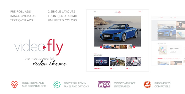 Videofly – Video Sharing & Portal Theme