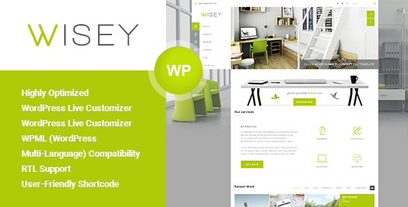Wisey – High Performance WordPress Theme