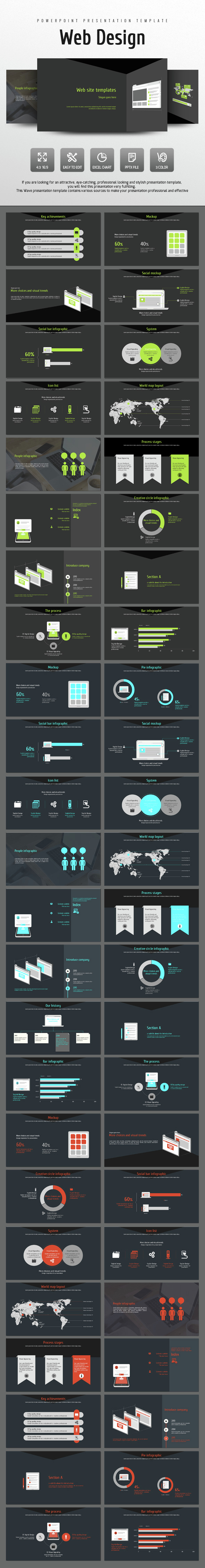 Web Design - PowerPoint Templates Presentation Templates