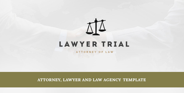 Lawyer Trial- Attorney, Lawyer and Law Agency Joomla Template