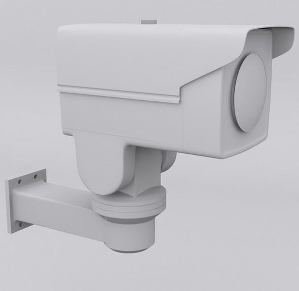 Bullet PTZ IP surveillance Camera - 3DOcean Item for Sale