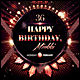Happy Birthday Poster/Flyer - GraphicRiver Item for Sale