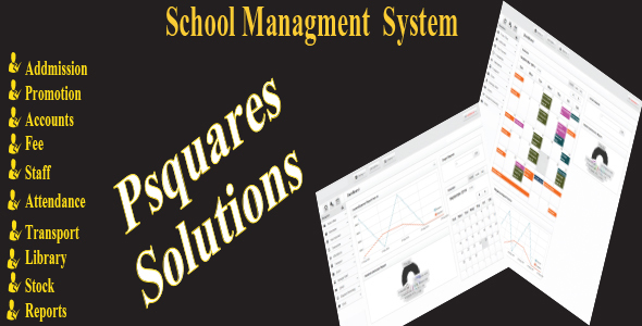 Psquares school management system - CodeCanyon Item for Sale