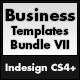 Business Templates Bundle 7 - A4 Landscape - GraphicRiver Item for Sale