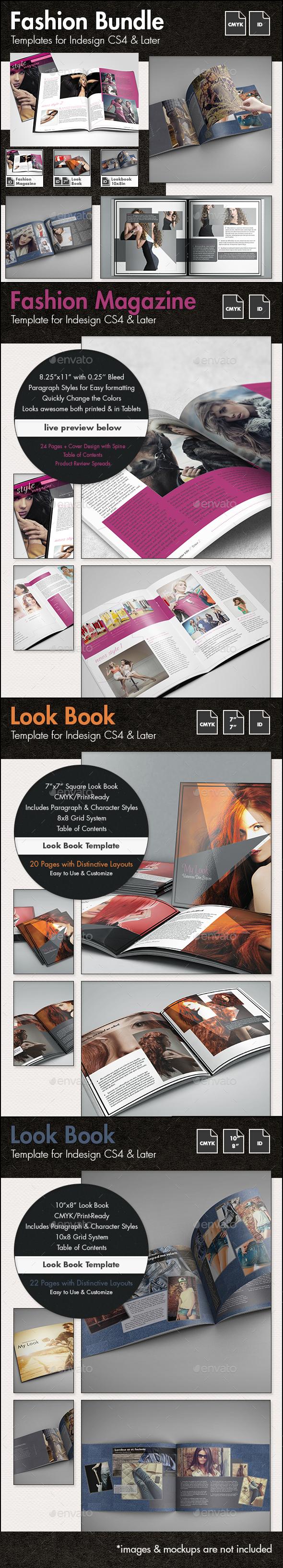 Fashion Templates Bundle - Magazines Print Templates