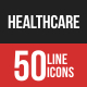 Healthcare Filled Line Icons