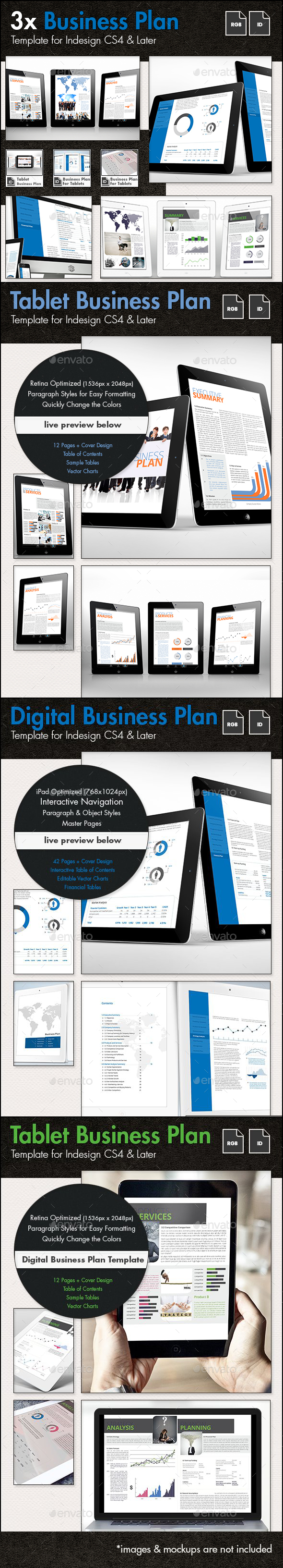 Business Plan for Tablets - The Bundle - Digital Books ePublishing