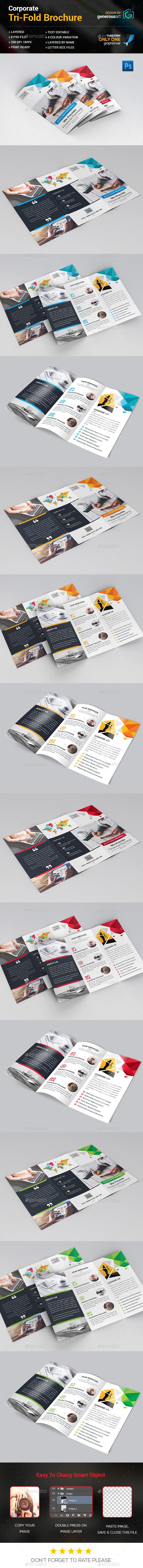Creative Tri-Fold Brochure - Corporate Brochures
