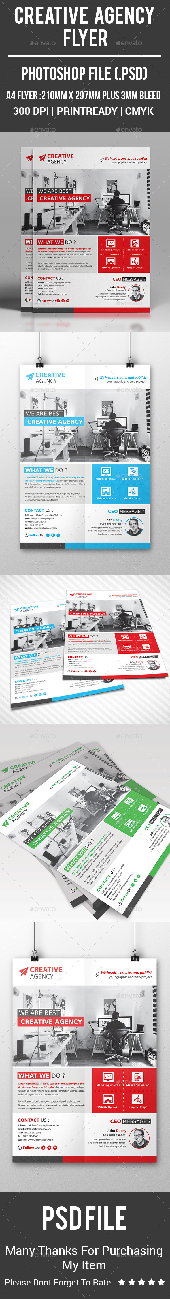 Creative Agency Flyer - Corporate Flyers