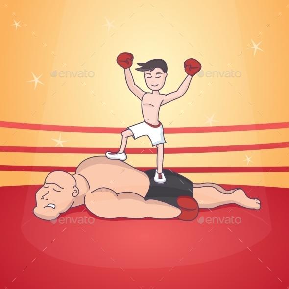 Boxing - Sports/Activity Conceptual