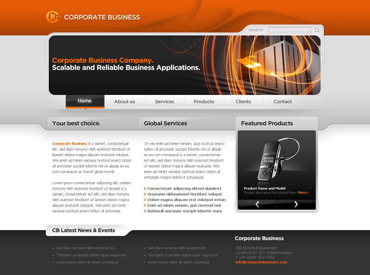 Free Download Business Template #06 Nulled Latest Version