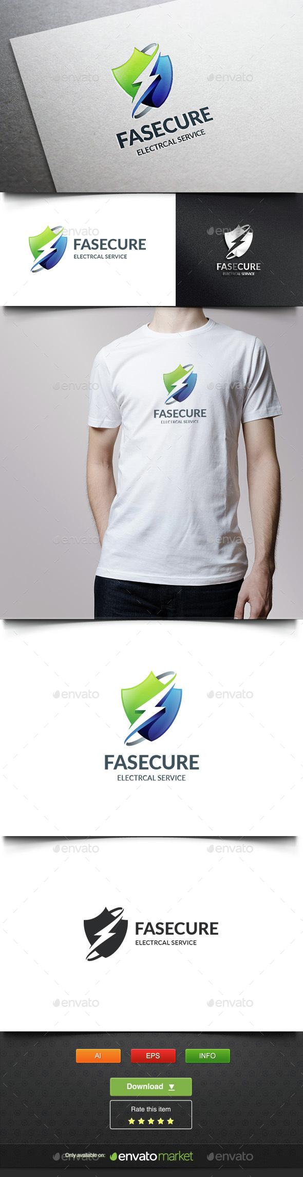 Fast Securiy - Symbols Logo Templates