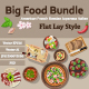 Big food bundle - GraphicRiver Item for Sale