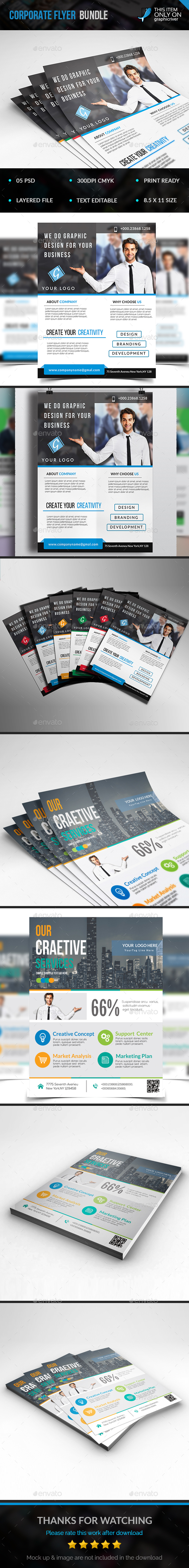 Flyer Bundle - Flyers Print Templates