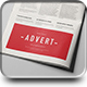 Newspaper Adverts Mock-up - GraphicRiver Item for Sale