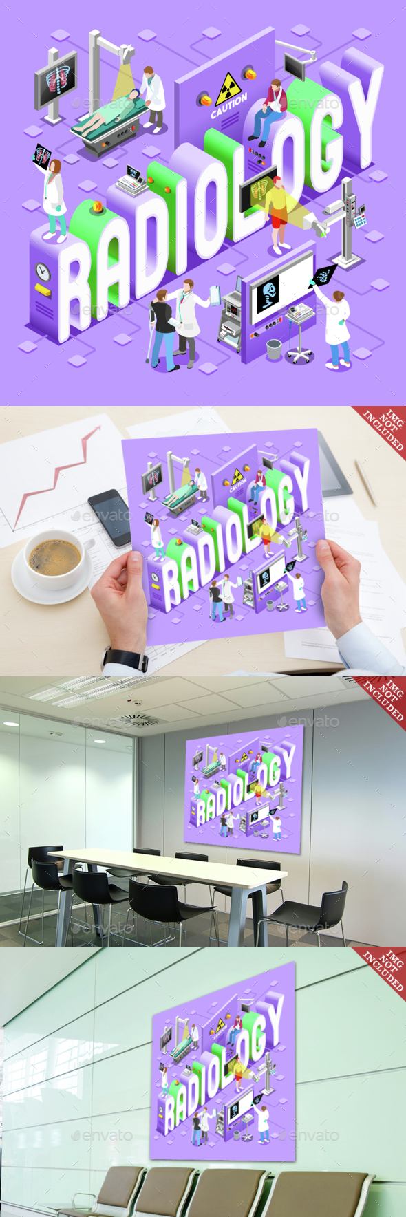 Radiology 01 Concept Isometric - Health/Medicine Conceptual