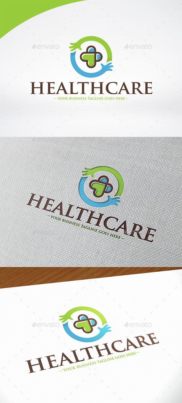 Healthcare Logo Template - Symbols Logo Templates