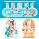 Welcome to the Swimming Pool - GraphicRiver Item for Sale
