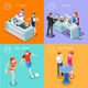 Life Time 01 People Isometric - GraphicRiver Item for Sale