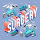 Surgery 01 Concept Isometric - GraphicRiver Item for Sale