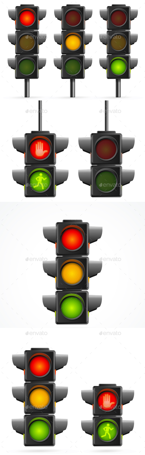 Traffic Light Sequence - Man-made Objects Objects