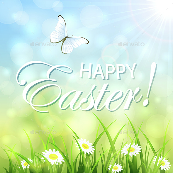Easter Natural Background - Miscellaneous Seasons/Holidays
