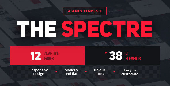 The Spectre – Agency Business Template