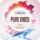 Pure Vibes Flyer - GraphicRiver Item for Sale