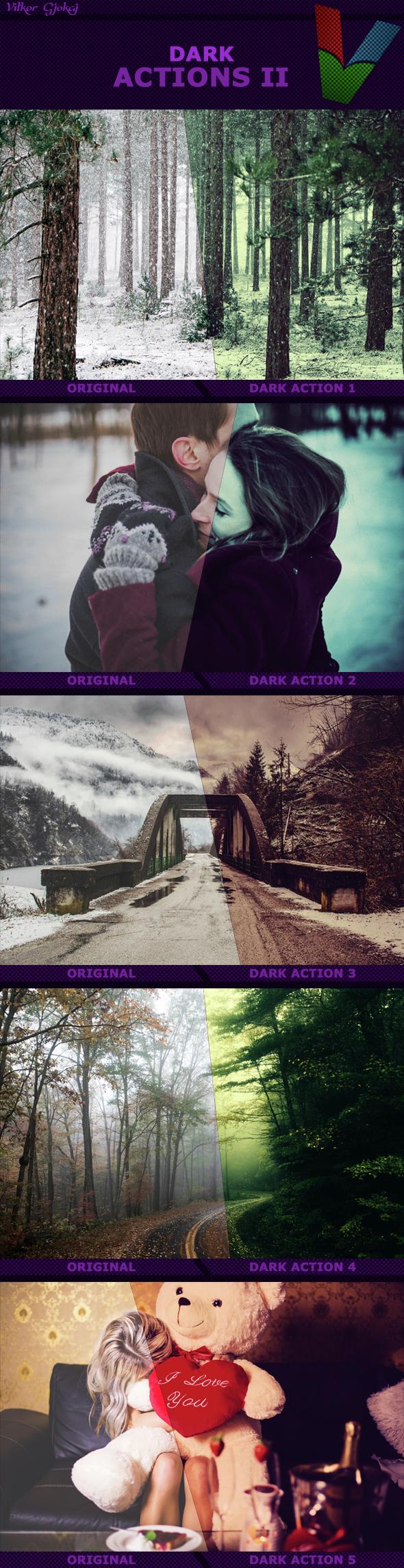Dark Actions II - Photo Effects Actions