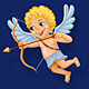 Cute Cupid Illustration - GraphicRiver Item for Sale