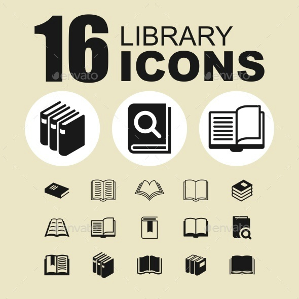 Library icons - Objects Icons