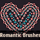 20 Romantic Vector Pattern Brushes - GraphicRiver Item for Sale
