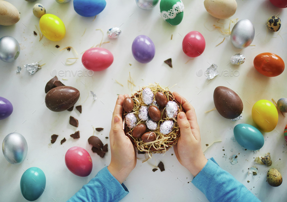 Easter chocolates - Stock Photo - Images