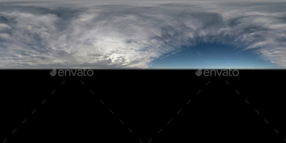 Cloudy Blue Sky Texture 001 - 3DOcean Item for Sale