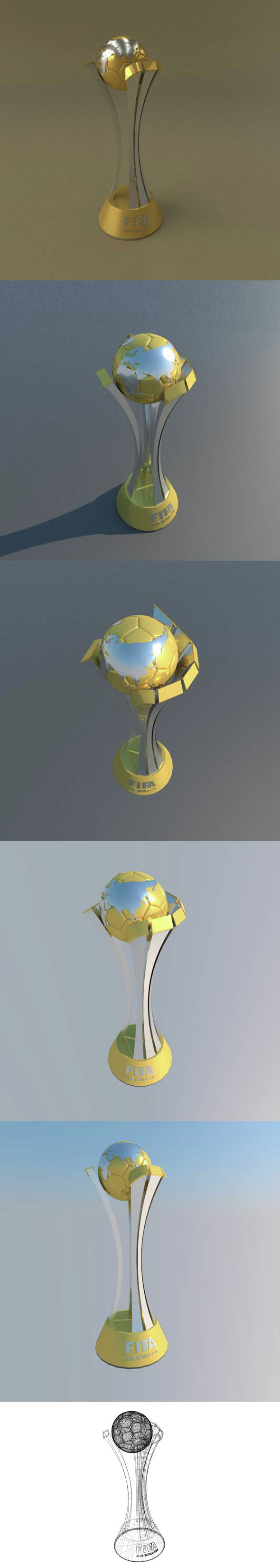 FIFA Club World Cup trophy - 3DOcean Item for Sale