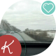 View From The Car To The Track  - VideoHive Item for Sale
