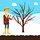 Prune Fruit Trees - GraphicRiver Item for Sale