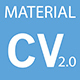 Material CV/Resume - ThemeForest Item for Sale