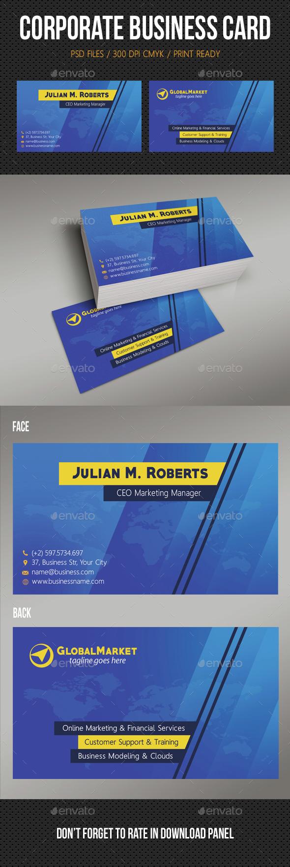 Corporate Business Card 16 - Corporate Business Cards