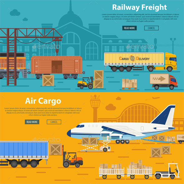 Railway Freight and Air Cargo - Industries Business