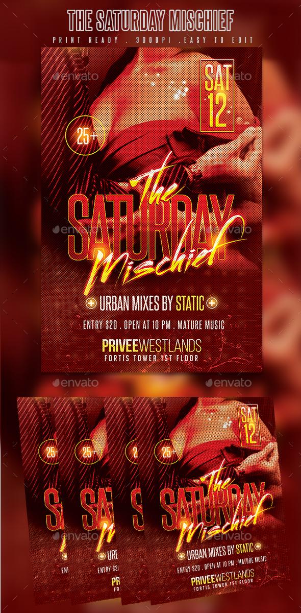Saturday Mischief - Clubs & Parties Events